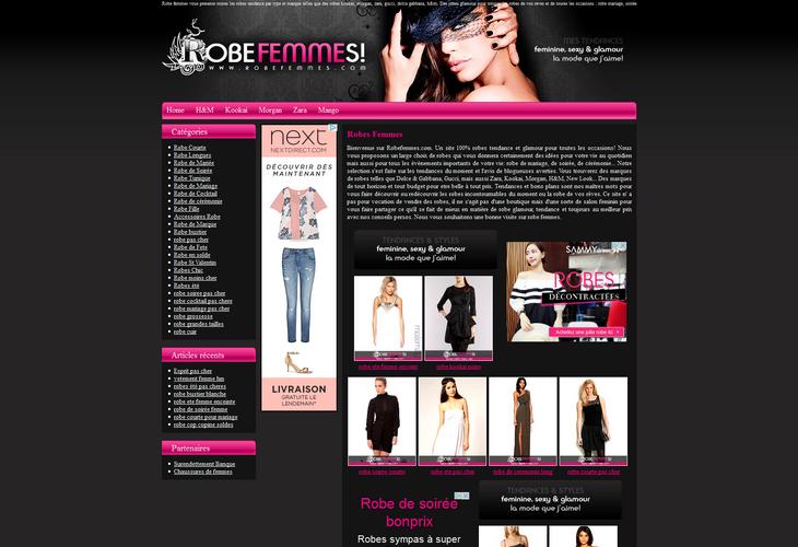 Robe Femmes